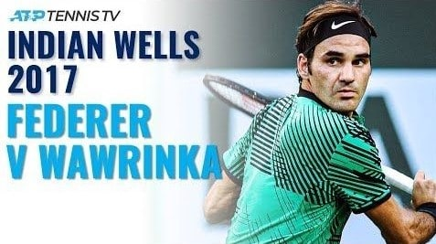 Highlight Federer Wawrinka 2017