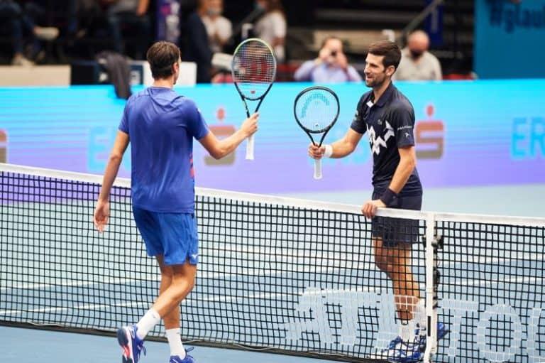Djokovic s'incline contre Sonego
